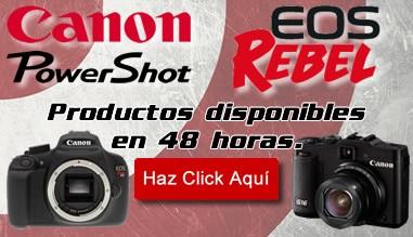 Productos Canon 48 horas